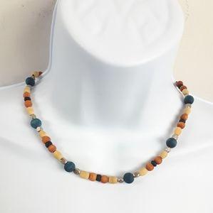 3/$10💞  Unisex, Wood Beaded Necklace